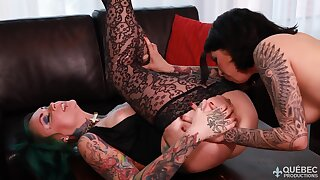 QuebecProductions Jackie Moore And Vandal Vyxen Fr